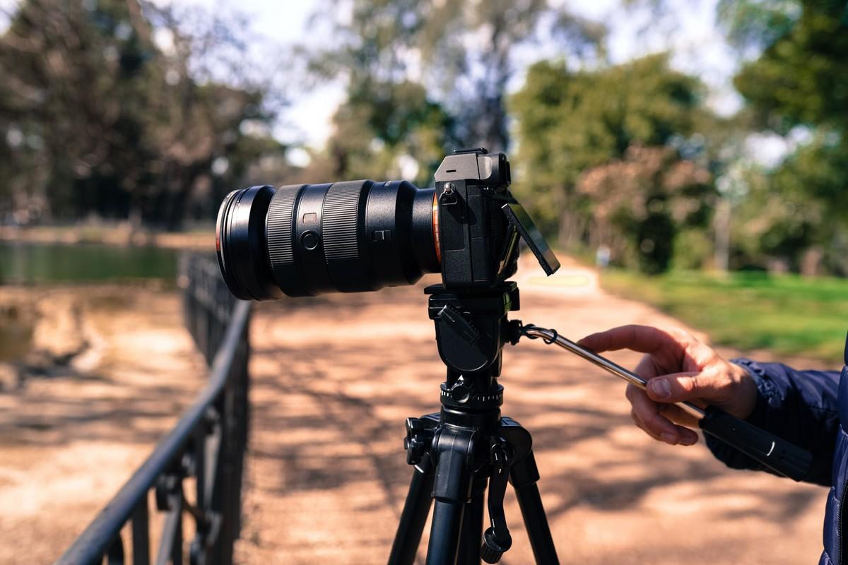appareil photo sur trepied