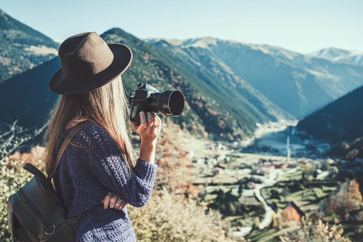 Prendre paysage appareil photo