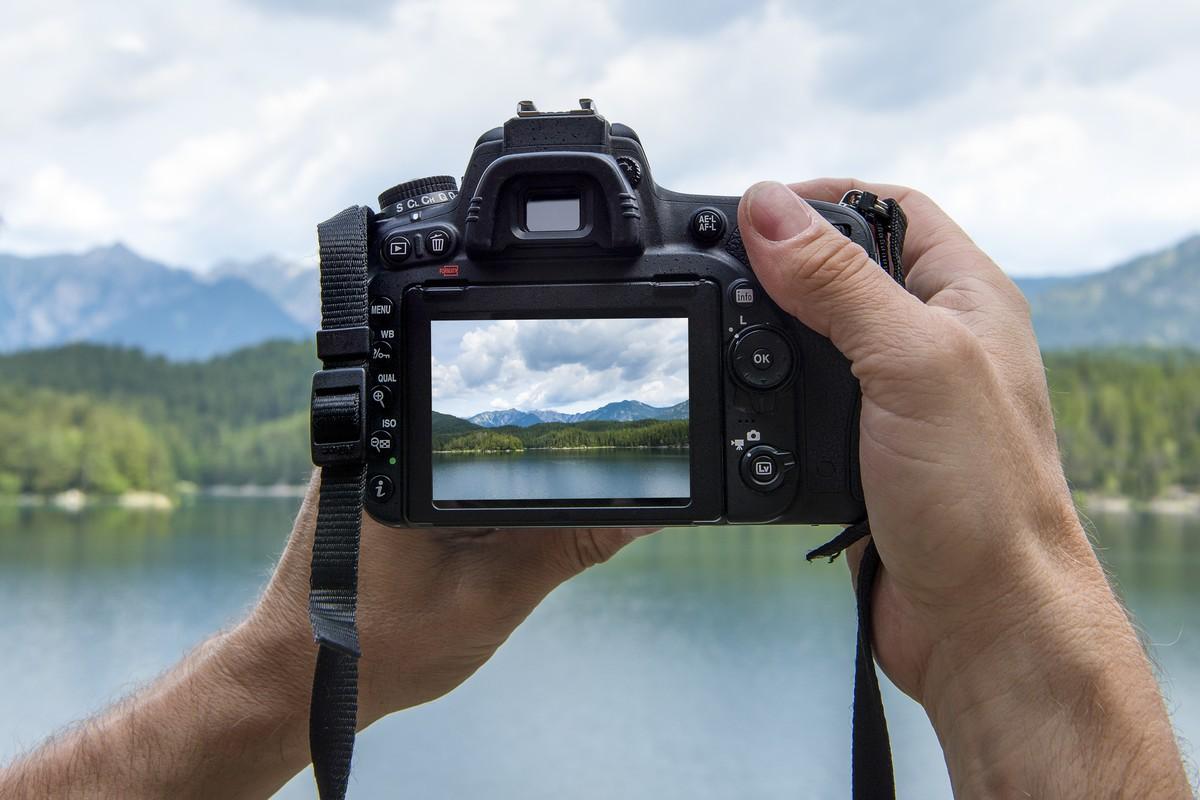 Prendre paysage en photo